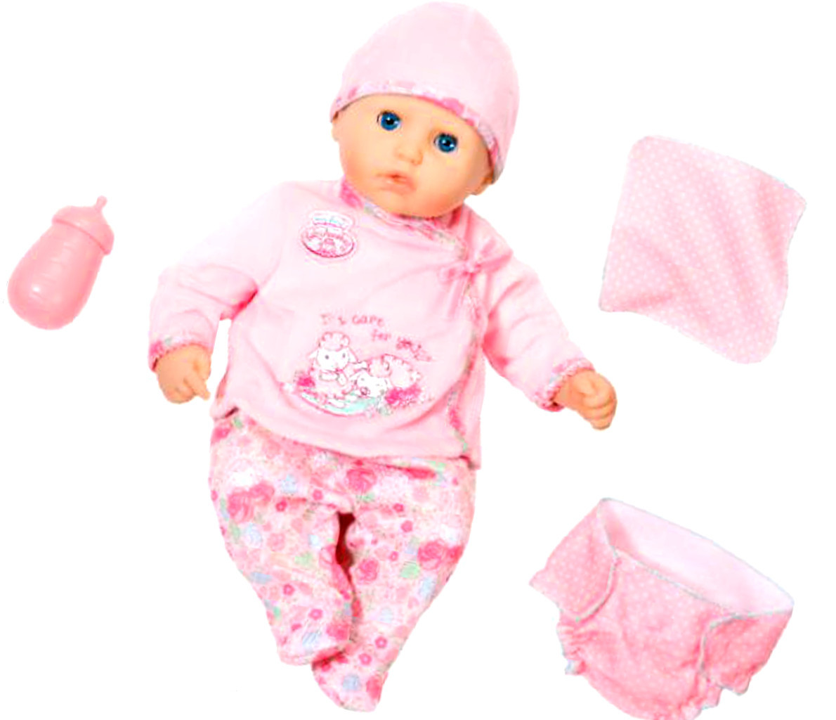 my first Baby Annabell I Care for You