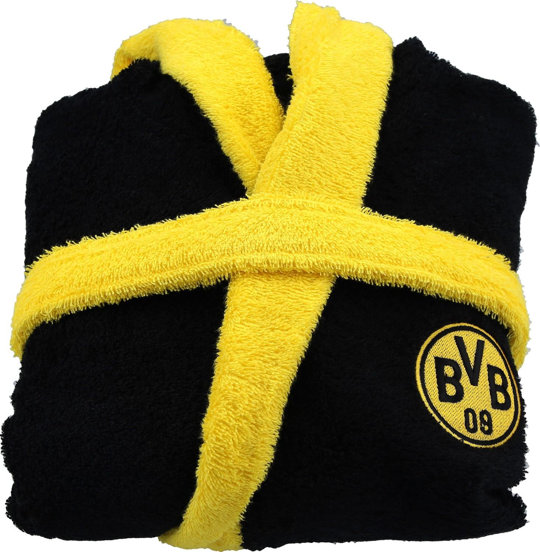 gelb Borussia Dortmund BVB-Bademantel f/ür Kinder