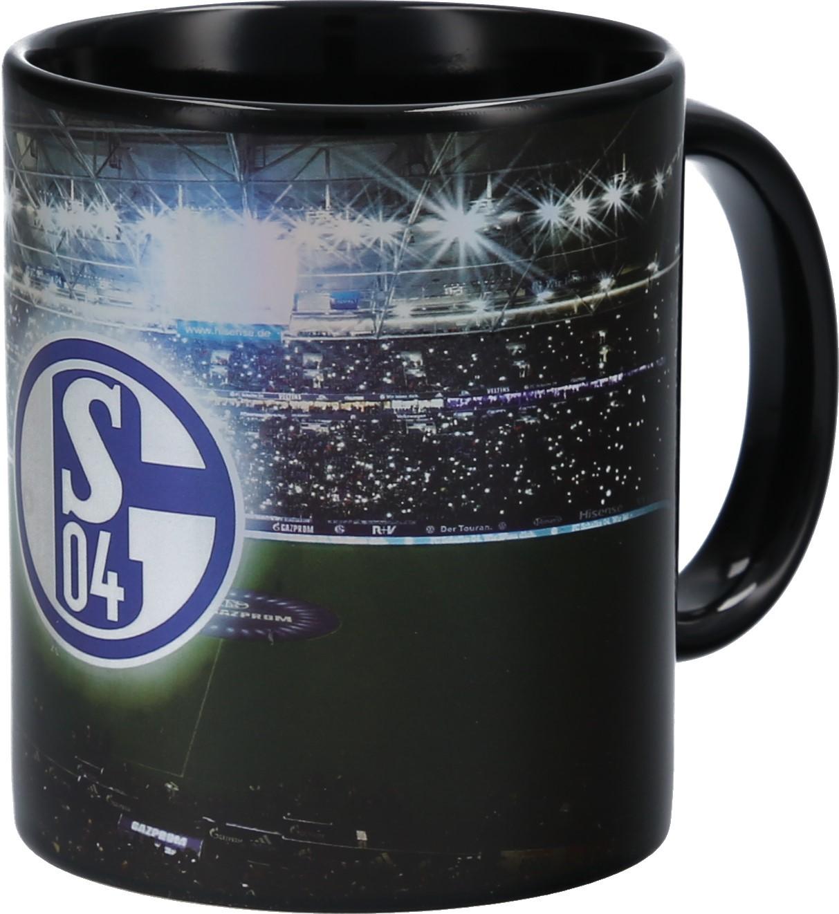 """FC SCHALKE 04 Kaffeebecher Tasse /""""Streifen/"""""""