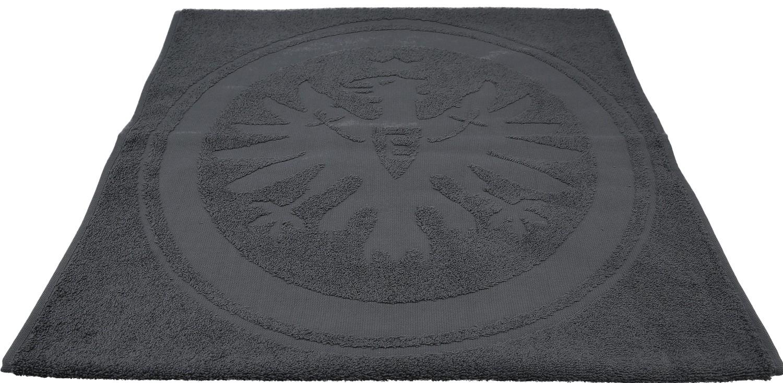 Eintracht Frankfurt Badetuch Tieflogo 70 X 180 Cm