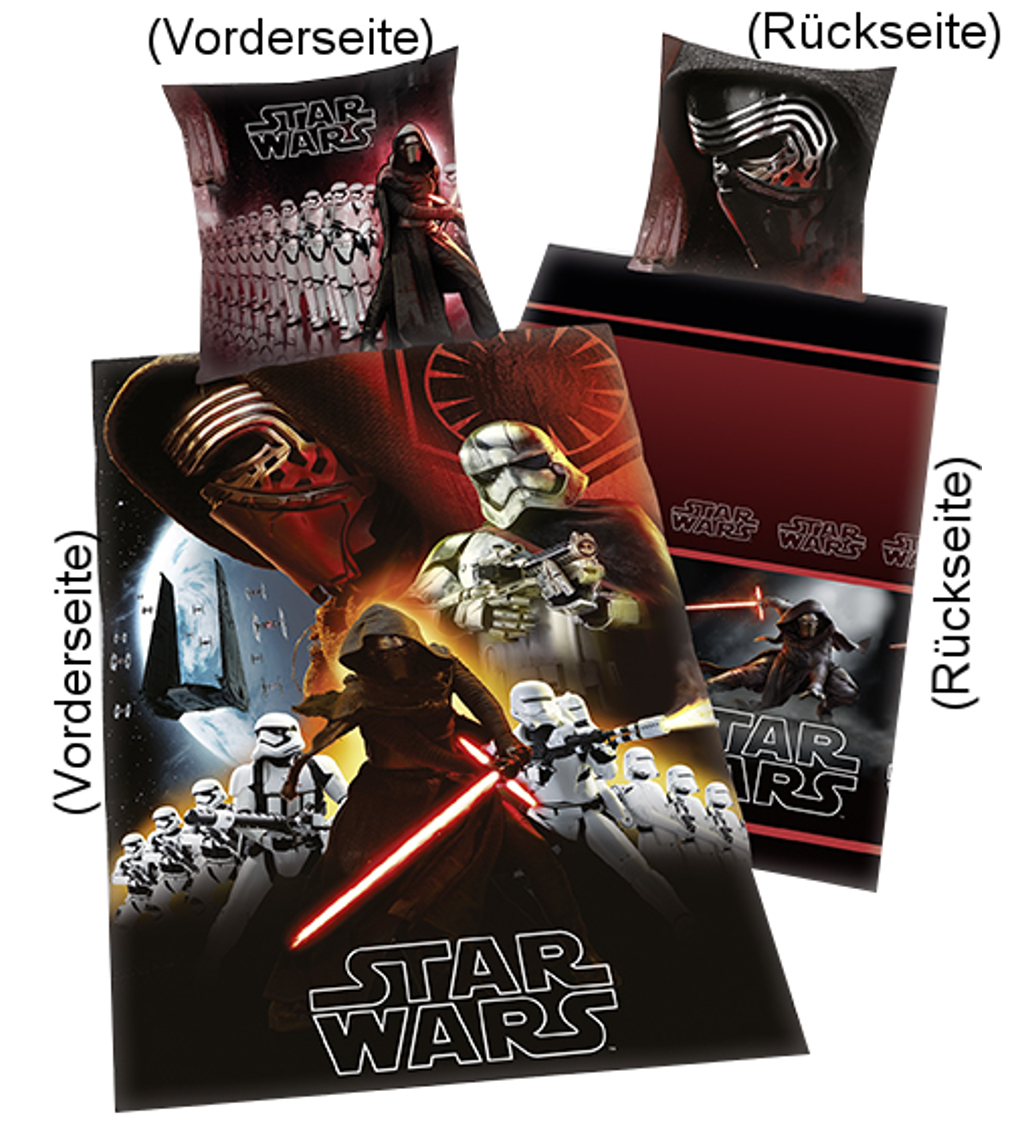 star wars bettw sche dark side 135x200cm. Black Bedroom Furniture Sets. Home Design Ideas