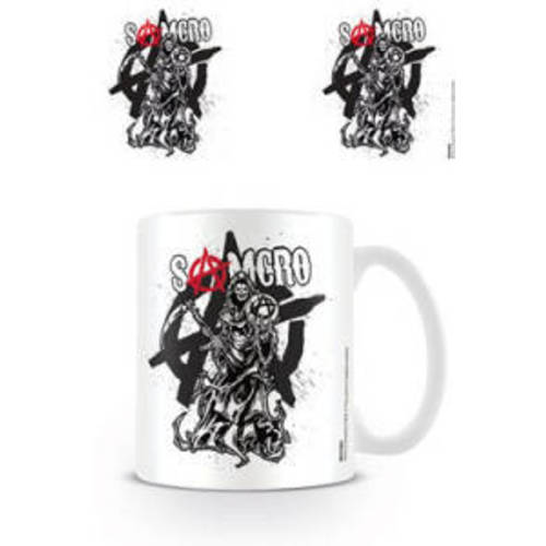 sons of anarchy tasse tall reaper. Black Bedroom Furniture Sets. Home Design Ideas