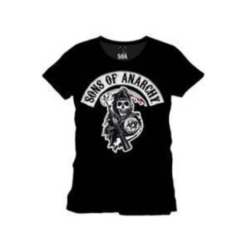 sons of anarchy t shirt soa reaper verschiedene gr en. Black Bedroom Furniture Sets. Home Design Ideas