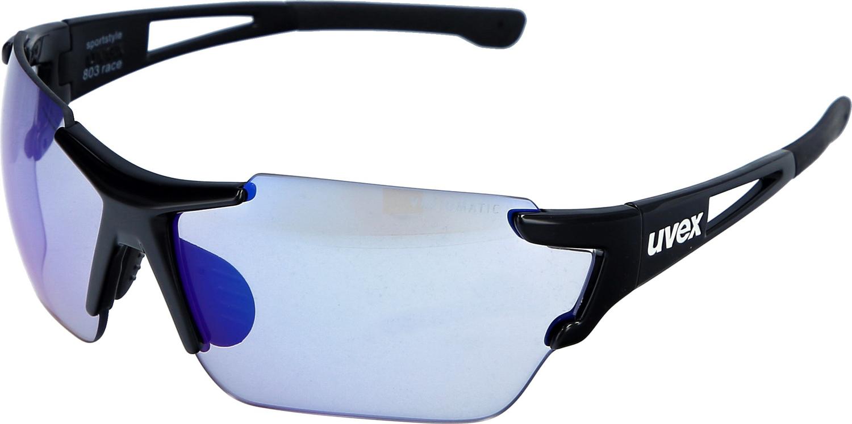 Sonnenbrille Uvex Sportstyle 803 race vm schwarz · Klicken Sie auf das  Bild 80f816f8c6a