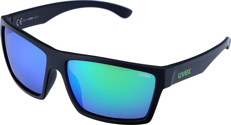Sonnenbrille Uvex Lifestyle lgl 29 schwarz matt grün
