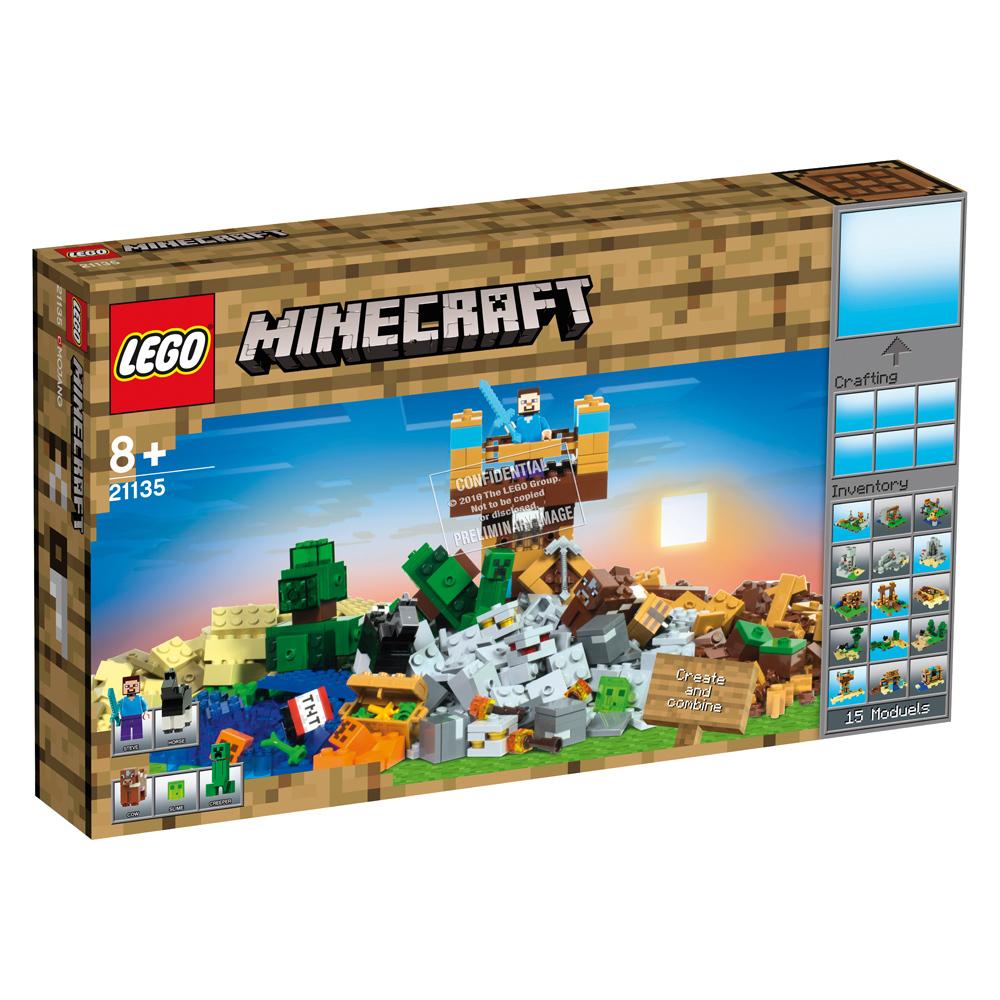 Lego 21135 Minecraft Die Crafting Box 20 21124 The End Portal