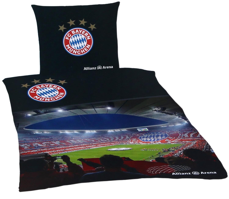 Fc Bayern München Bettwäsche Allianz Arena 135x200cm